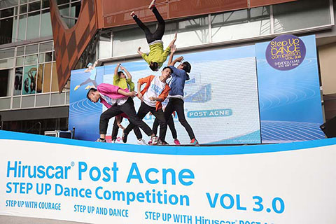Hiruscar Post Acne Step Up Dance Competition 2015