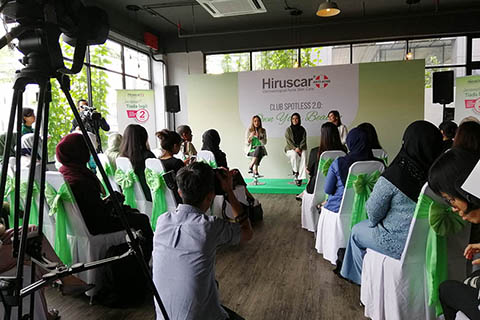 Hiruscar Club Spotless 2.0 Own Your Beauty Campaign