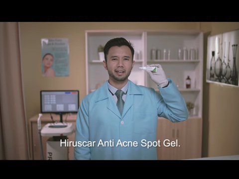 Hiruscar Anti-Acne commercials video