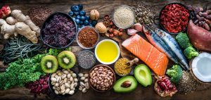 food to help with acne